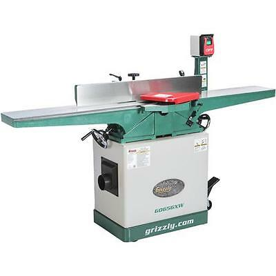 "G0656XW Grizzly 8"" Jointer with Spiral Cutterhead"