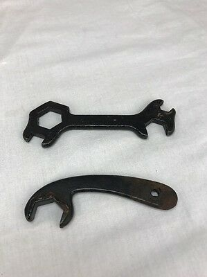 Antique Treadle Sewing Machine Tool Wrench Heavy Cast