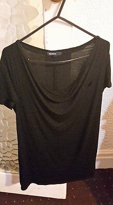 Maternity GAP black blouse, size M