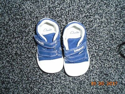 Clarks Baby Boy First Shoes size 3F