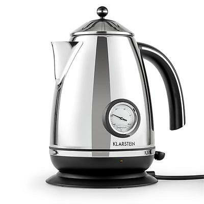 Klarstein Aquavita Chalet Quick Water Boil Kettle 1.7 L New Electric Kettles