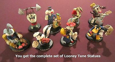 Looney Tunes figurine statue set from 1994