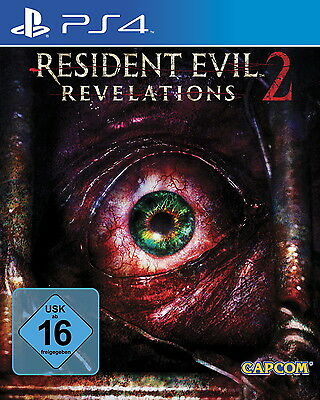 Resident Evil: Revelations 2 PS4 (Sony PlayStation 4, 2015) NEU OVP