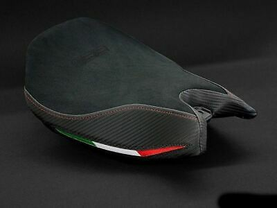 Ducati 1199 Panigale Luimoto Rider Seat Cover Suede Fit Performance Comfort Seat