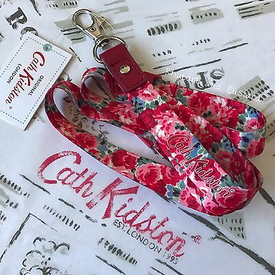 CATH KIDSTON Lanyard ID Photo Conference Festival Security Pass Keyring NEW