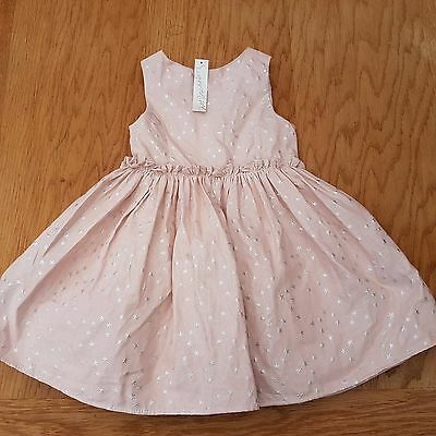 NEXT Signature Girl's Pink Party Occasion Dress Size 18 - 24 Months - BNWT