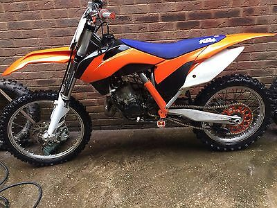 KTM 125 SX 2017 ONLY 1.5 hours from new!