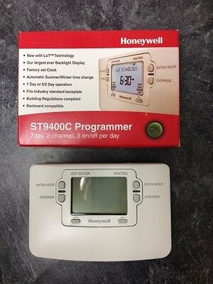 Honeywell ST9400C 7 Day 2 Channel Programmer - Replaces ST6400C