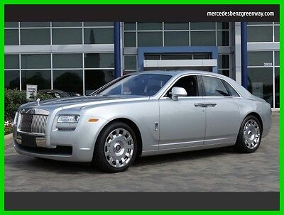 2013 Rolls-Royce Ghost Base Sedan 4-Door 2013 Used Turbo 6.6L V12 48V Automatic Rear Wheel Drive Premium