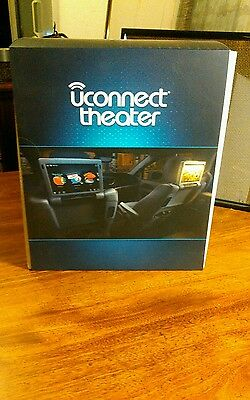 2017 Chrysler uconnect theater wireless headphones and remotes