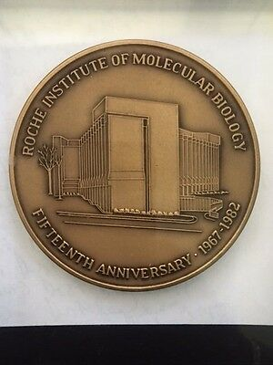 Roche Bronze Medal 1982 Anniversary of Institute of Molecular Biology.-A507