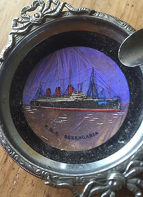 R.M.S. Berengaria Souvenir Ashtray
