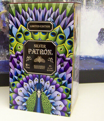 LAST ONE! NEW, Patron Silver Tequila Collectors Limited Edition Metal Empty Tin!