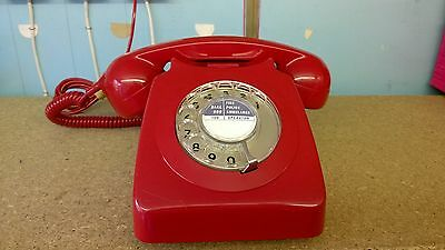 GPO/BT 8746G Red Telephone