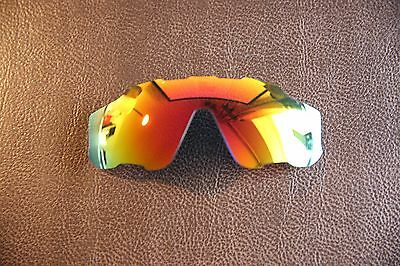LensReplace Fire Red Iridium Polarized Replacement Lens to fit-Oakley Jawbreaker