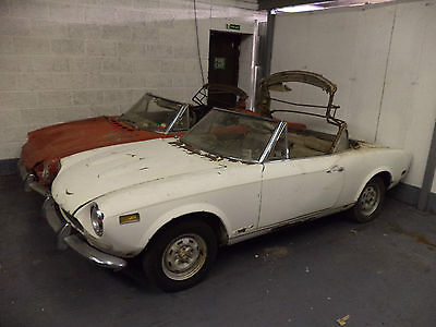 Fiat 124 Spiders X 2 Breaking For Spares! Engines/trim/panels All Available!