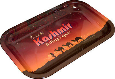Kashmir 10.5x6 Tray Rolling Papers Brand Vintage Style/Cigarette Rolling Tray