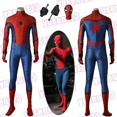 Spider-Man:Homecoming Spiderman FullBody Costume Halloween Cosplay One-piece