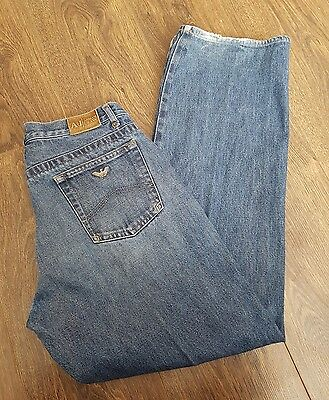 GENUINE Boys Armani Junior blue Jeans - Age 15 YRS  AJ DENIM 30/30""