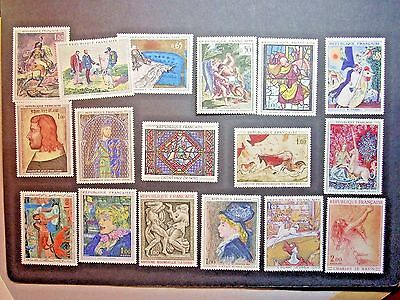 France 1962/73 French Art  Mixture Of Issues Lmm