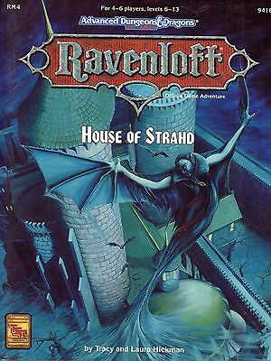 AD&D 2nd Edition Ravenloft Adventure - House of Strahd