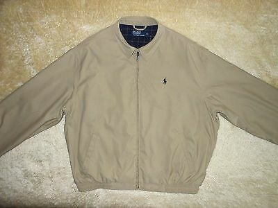 Mens Ralph Lauren Bomber Harrington Jacket - Size L