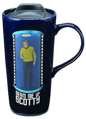 Vandor Star Trek Beam Me Up Scotty 20 Oz. Travel Mug 80751