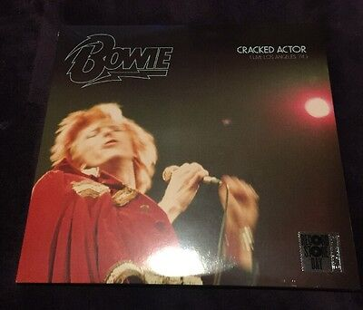Record Store Day (RSD) 2017 David Bowie Cracked Actor Triple Vinyl New Sealed