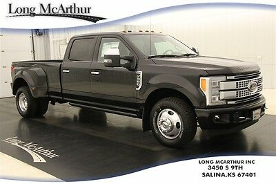 2017 Ford F-350 PLATINUM SUPER DUTY NAV REAR VIEW CAM MSRP $64120 DUALLY ALUMINUM CREW CAB NAVIGATION REVERSE SENSING REAR VIEW CAMERA