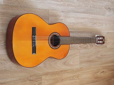 stunning classical Spanish guitar solid cedar top Vincente Sanchis 29 new set up