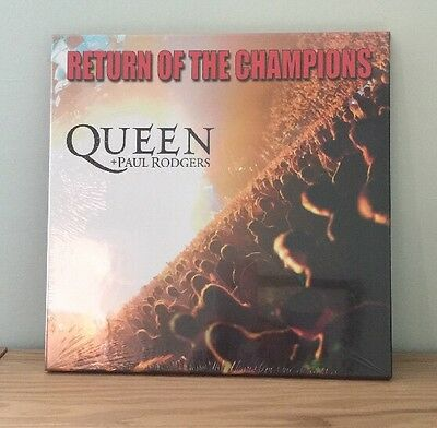 Queen Return Of The Champions Triple Vinyl Box Set New & Sealed - Very Rare