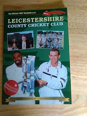 Leicestershire County Cricket Yearbook 1997