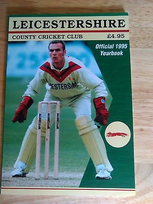 Leicestershire County Cricket Yearbook 1995