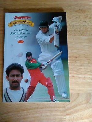 Leicestershire County Cricket Yearbook 2000