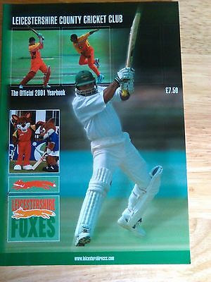 Leicestershire County Cricket Yearbook 2001