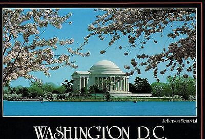 Old Postcard: JEFFERSON MEMORIAL, Washington D.C. United States