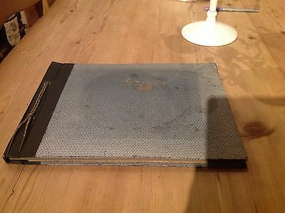 Vintage 1930's Photograph Album, Empty (unused)