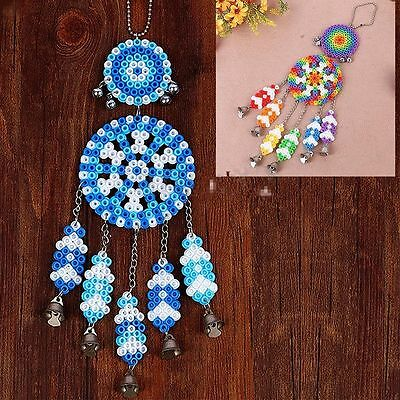 Dream Toy DIY Kit Hama Perler Gift Wind Chimes 5mm Fuse Beads Crafts Windbell