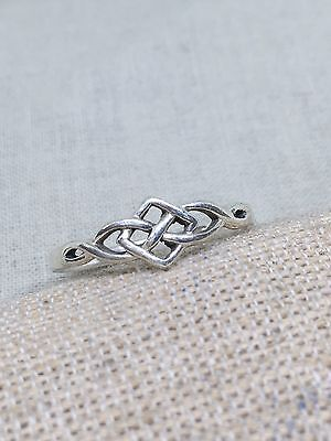 Sterling Silver Celtic Ring Size 8 1/4 PSCL 12-8