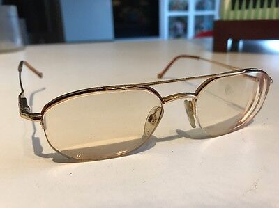 Vintage Lacoste Gold Frames Lenses Prescription