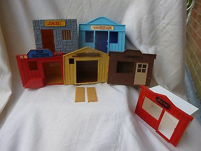 Timpo Vintage Wild West Buildings Collection