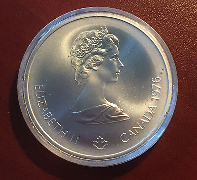 Montreal 1976 Olympics Silver Coin - $10
