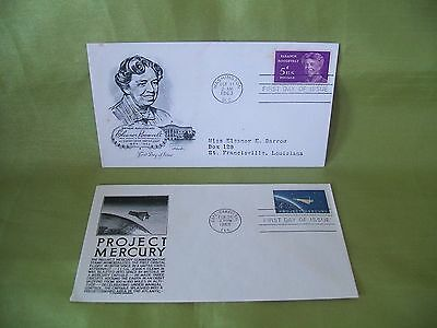 2 First Day Covers from USA