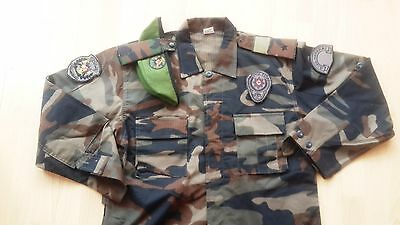 Turkish Police swat specs ops camouflage uniform jacket  military army camo