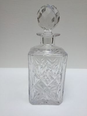 Royal Doulton Crystal Gergian Cut  Decanter