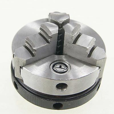 Watch Makers 3 Jaws Self Centering Lathe Chuck [Diameter:50mm]