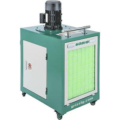G0818 Grizzly Metal Dust Collector