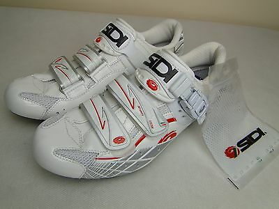 SIDI Cycling Shoes WHITE&RED Carbon Size 40