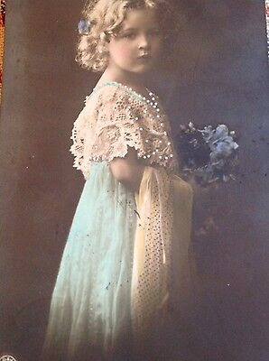 1912 postcard of a young girl