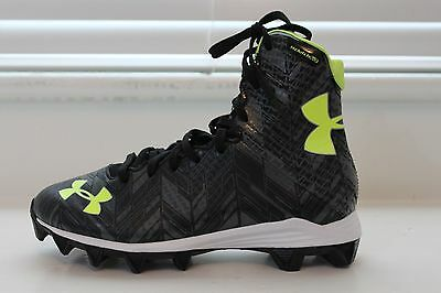 Under Armour Highlight Youth Boy's Lacrosse Cleats 5.5 MSRP $60 NEW